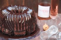Bundt cake de chocolate y cava