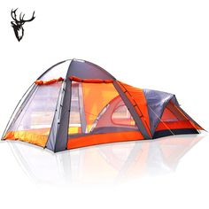 Antelope Double Layer Two Room Person Rain-Proof C&ing Tent  sc 1 st  Pinterest & SwissGear 12 Person Three Room Getaway Tent | camping | Pinterest ...