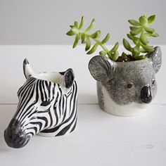 This hand painted animal egg cup would make a great gift for the animal lover in…