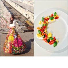 Adda's All – Fashion Food inspiruar nga @ninnasblog – Sallatë shumëngjyrëshe me kuinoa dhe perime