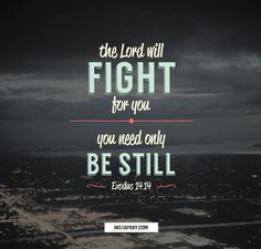 """""""The LORD will fight for you; you need only to be still"""" (Exodus 14:14, NIV)    When was the last time you can remember being still? And I don't mean sitting in traffic or standing in line at the store. In today's fast-paced culture, people are constantly multitasking, trying to do more in less time, constantly on the go, constantly seeking information, constantly checking off to-do lists. And there is nothing wrong with any of these things. But if we are going to see the..."""