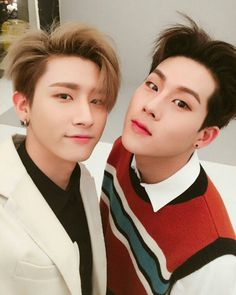 ― Jooheon & I.M ❦ ↡ #monstaxfact 「#jooheon 」: He is a creative person that he is also willing to design their jackets and album covers. @official_monsta_x