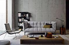 Sofa Husk-Sofa -B&B Italia - Design by Patricia Urquiola