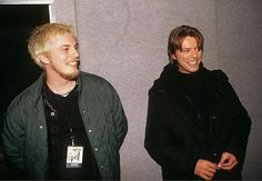 Duncan Jones with father, David Bowie