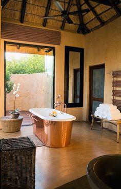 Copper tub