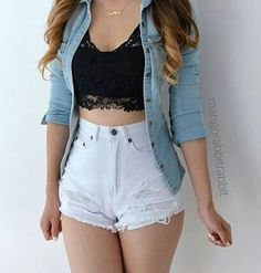 59 Spring Outfits To Wear Now Teenage Outfits, Teen Fashion Outfits, Cute Fashion, Outfits For Teens, Girl Fashion, Girl Outfits, Jean Outfits, Cute Casual Outfits, Edgy Outfits