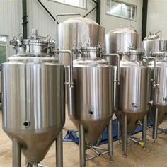 Super Quality Commercial Mini Used Craft Beer Brewery Stainless Steel Material Home 100L Beer Brewing Equipment with Ce ISO beer fermenting tank from Jinan ALE Machinery Co.,Ltd of China   www.alebeerbrew.cn Beer Keg, Beer Brewery, Beer Brewing Process, Brewing Beer, How To Make Moonshine, Brewing Equipment, Starter Set, Steel House, Stainless Steel Material