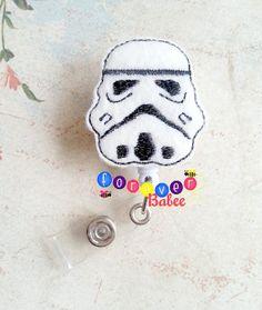 Star Wars Storm Troopers Badge Reel  Nurses Badge by ForeverBabee, $6.00 #Starwars