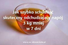 zdrowie.hotto.pl-Jak-szybko-schudnąc-skuteczny-odchudzajacy-napoj-3-kg-mniej-w-7-dni Shot Glass, Detox, Food And Drink, Weight Loss, Drinks, Healthy, Tableware, Fitness, Workout