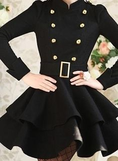 Military dress jacket- holy crap that's cute. Wish I was skinny.