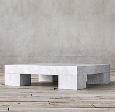 Marble Parsons Coffee Table