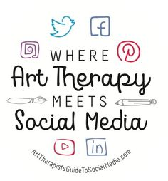 Authored by Art Therapy Alliance Founder Gretchen Miller, The Art Therapist's Guide to Social Media (Routledge) offers the art therapy community a guide that addresses content related to social media use, its growing influence, and the impact social netwo Social Networks, Social Media, Social Work, Art Therapy, Therapy Ideas, Art And Technology, Inner Child, Art Activities, Digital Media