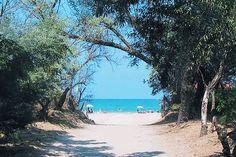 ingresso alla spiaggia