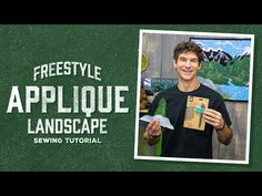 Learn a fun and easy way ro make a freestyle landscape quilt. 2019 Learn a fun and easy way ro make a freestyle landscape quilt. The post Learn a fun and easy way ro make a freestyle landscape quilt. 2019 appeared first on Quilt Decor. Quilting Tips, Quilting Tutorials, Sewing Tutorials, Landscape Art Quilts, Landscape Design, Applique Tutorial, Missouri Star Quilt, Textiles, Applique Quilts