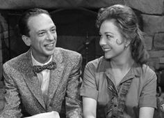 """Don Knotts and Betty Lynn in the 1960s as boyfriend and girlfriend on """"The Andy Griffith Show."""""""