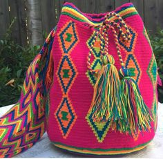 Our gorgeous mochilas are on SALE for a limited time. They are hand-made by artisan women in Colombia ,,, gorgeous!!