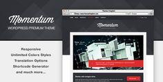 Momentum - Responsive WordPress Theme