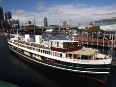 South Steyne moored at Darling Harbour Sydney Ferries, Ferry Boat, Darling Harbour, Rc Model, Melbourne, Boats, Travel, Viajes, Ships