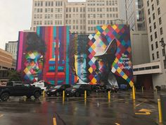 SWEET Bob Dylan mural located in Downtown Minneapolis!