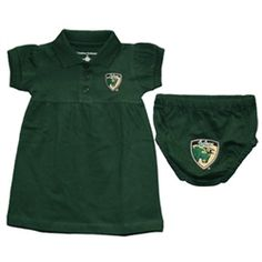 USF Bulls Infant Polo Dress with Bloomers @Krystal Lint
