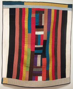 """The University of Mississippi Museum:  From its 2011 exibition, """"A Survey of Gee's Bend Quilts."""""""