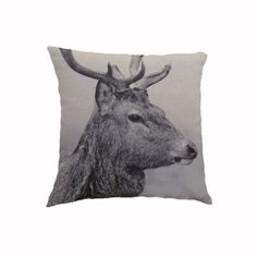 Lomond stag cushion cover 43cm x 43cm Have a look at the website... www.chicathome.co.uk