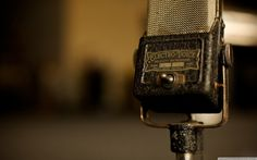 Vintage Mics - just think what things have been said or sung