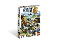 Join the chase in LEGO City! Thieves are on the loose with lots of stolen money! Help the police officers to catch them and lock in jail before they get away! LEGO CITY Alarm is an exciting race game for 2–4 players. Game play is approximately 10–20 minutes.