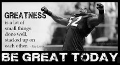 Be great today.