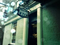 One of Edinburgh's best options for a pint: the no-frills Oxford Bar on Young Street (and favorite pub of Ian Rankin)