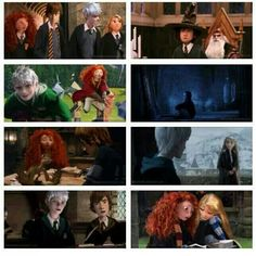 Harry Potter and Diseny crossover