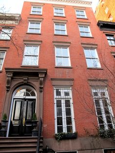 Betsy Morgan's Townhouse in Chelsea New York via Anna Spiro