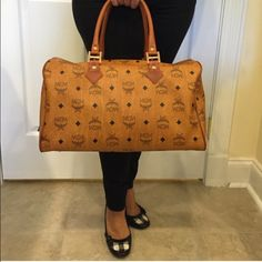 Authentic Tan MCM Authentic mcm bag , retails for $1,300 . Feel free to make offers MCM Bags Totes