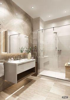 26 Super Ideas For Bathroom Wood Tile Shower Vanities Wood Tile Shower, Wood Bathroom, Bathroom Wall Decor, Bathroom Layout, Bathroom Lighting, Bathroom Small, Tile Wood, Bathroom Inspo, New Bathroom Designs