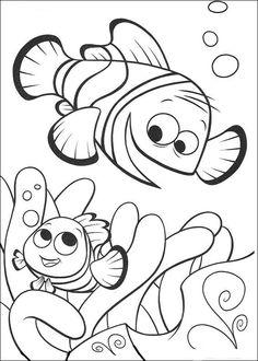 Disegni da colorare per bambini. Colorare e stampa Alla ricerca di Nemo 67