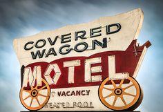 Covered Wagon Motel - Buena Park, CA