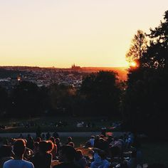 Sunset from Riegrovy Sady in Prague. Check how to get there on my YT channel (link in the bio)- - - - - - - - - - - - - #czechia #praha #prague #praga #prag #czechrepublic #summer #summertime #praguecastle #sunset #sundown #riegrovysady #beer #view #viewfromthetop #sun #saturday #landscape #landscapephotography #travel #travels #travelgram #traveler #traveling #travelblogger #travelphotography