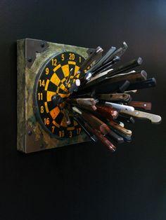 Knife Fight (Aichmophobia), Ron Ulicny, 2010