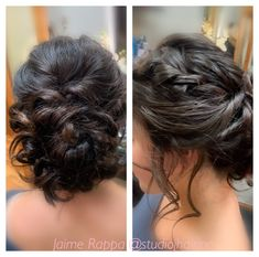 Soft updo Soft updo with loose curls and braid Braids With Curls, Loose Braids, Loose Curls, Formal Hairstyles, Wedding Hairstyles, Soft Updo, Hair Studio, Updos, My Hair