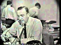 Video from CBS News the time of JFK shooting Famous Walter Cronkite footage - YouTube