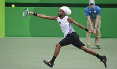 Dustin Brown at the 2016 Olympics #DustinBrown #2016Olympics #OlympicTennis #tennis Olympic Tennis Event - Rio 2016