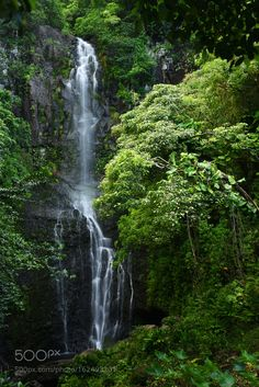"""Wailua Falls Go to http://iBoatCity.com and use code PINTEREST for free shipping on your first order! (Lower 48 USA Only). Sign up for our email newsletter to get your free guide: """"Boat Buyer's Guide for Beginners."""""""