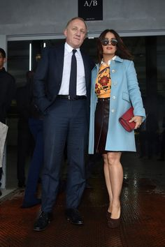 These Pictures Show Salma Hayek and Her Husband Are a Total Power Couple