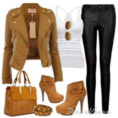 That gorgeous beautiful jacket <3 <3 <3 Those cute little booties <3 <3 The bracelets are cute too (: