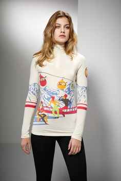 Neve Designs Gondola Vintage Baselayer now available at Mayfair Fifth www.mayfairfifth.co.uk