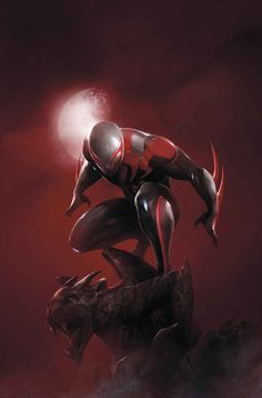 Spider-Man 2099 No. 10 Cover Art Featuring: Spider-Man 2099 Marvel Comics Poster - 30 x 46 cm Marvel Comics, Heros Comics, Hq Marvel, Marvel Heroes, Storm Marvel, Captain Marvel, Comic Book Characters, Marvel Characters, Comic Character