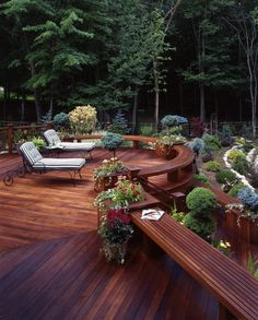 Beautiful deck for outdoor living