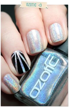 Holographic Style #manicure