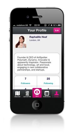 Follow galleries and art events with the ArtSpotter iPhone app