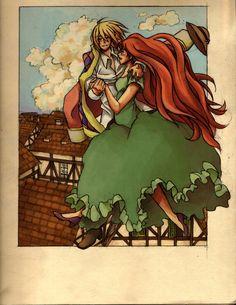 Sophie and the Wizard by duastre.deviantart.com on @deviantART